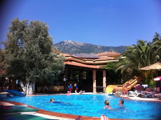 Seyir Village Hotel: the view from my sunbed!!!