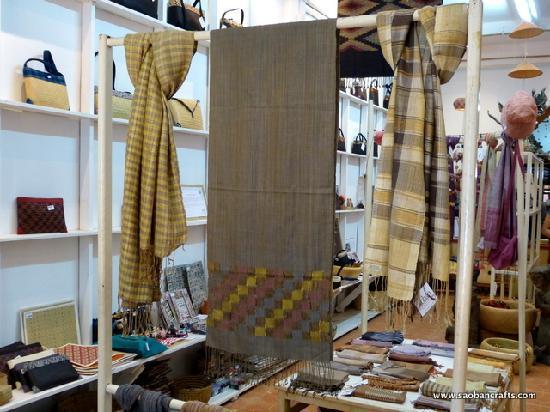 Saoban : Silk, cotton, bamboo, silver and more