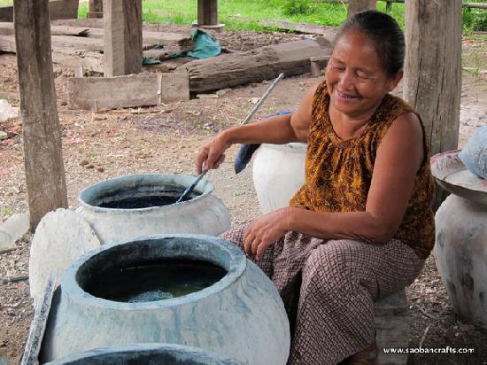 Saoban: Using natural dyes