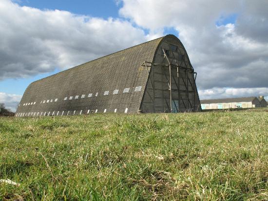 Hangar a Dirigeables d'Ecausseville: Airship Hangar Ecausseville France