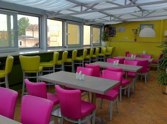 3MostA Boutique Hotel: terrace restaurant