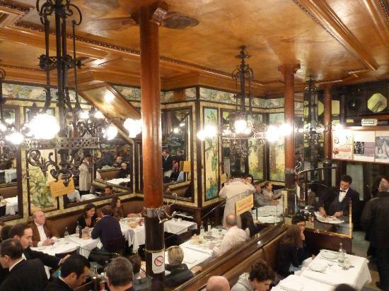 Salle rdc de la brasserie lipp picture of brasserie lipp for Restaurant la salle a manger paris