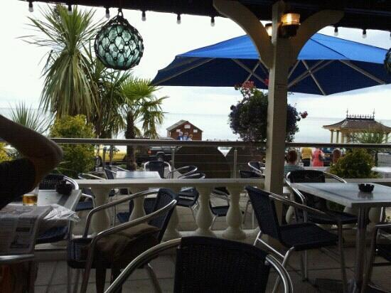 The Steamer Inn: the view from the steamer