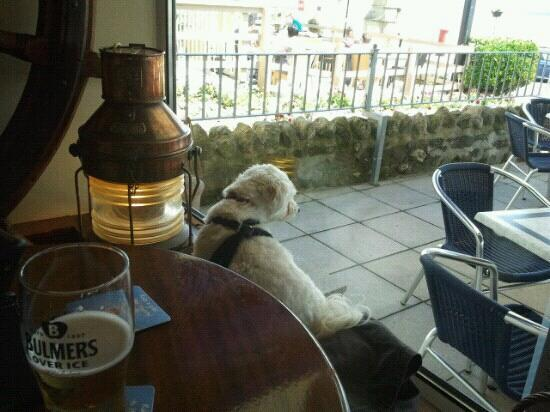 The Steamer Inn: rowley's favourite position in the steamer