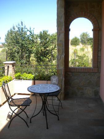 terrazza della camera ninfea - Foto di Garden B&B, Arezzo ...