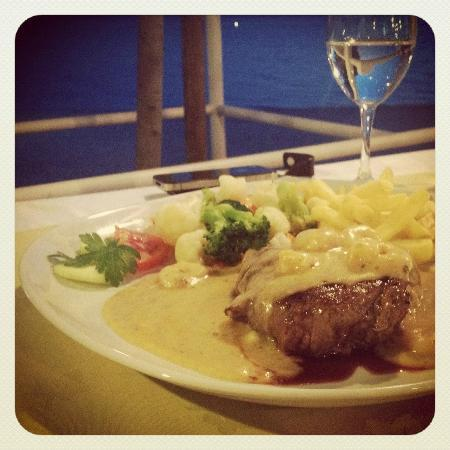 The Maritimo Hotel: Maritimo Steak