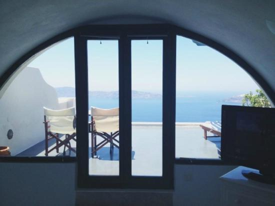 Anastasis Apartments: View from bedroom