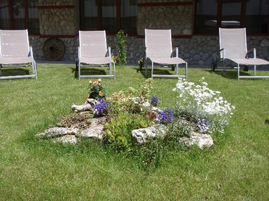 Pirin River Ski & Spa: Garden - chez-longues