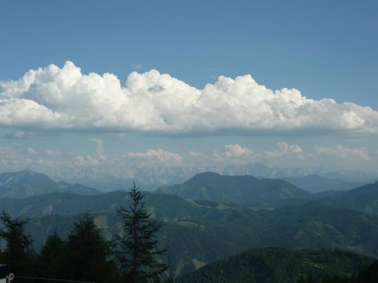 Goldeck : vista panoramica