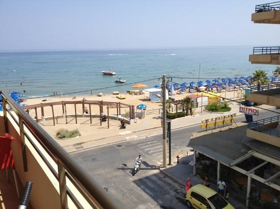 Steris Elegant Beach Hotel Apartment: View from room 306