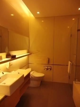 Somerset Sukhumvit Thonglor Bangkok: バスルーム