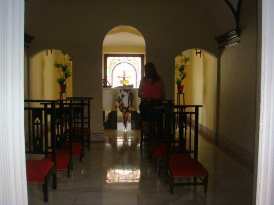Hotel Casa Palacio: capilla