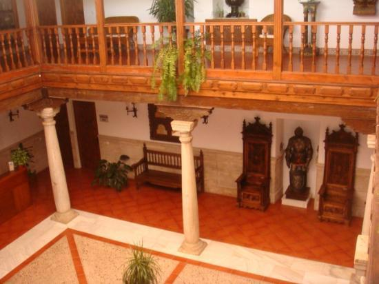 Hotel Casa Palacio: patio interior