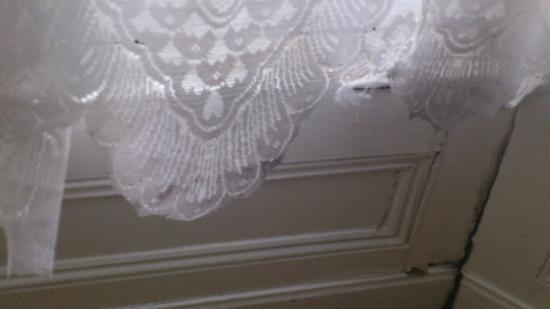 Royal Vincent Hotel: curtain netting