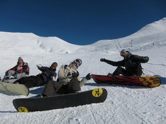 UCPA Chamonix Cosmiques: Having fun