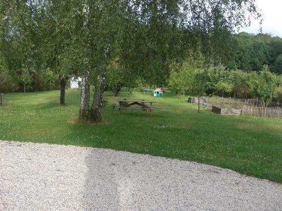 La Chimere : Jardin avec piscine