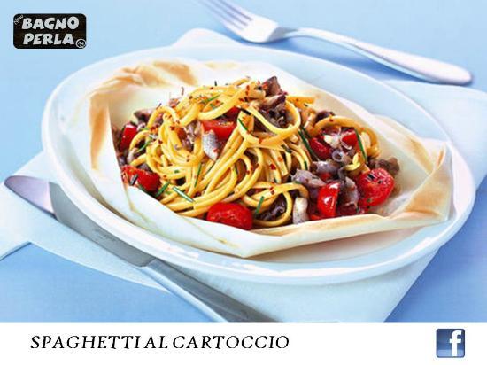 Spaghetti al cartoccio picture of bagno perla ravenna tripadvisor - Bagno perla ravenna ...