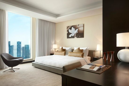 Kempinski Residences & Suites, Doha: The master bedroom of a Three Bedroom Suite