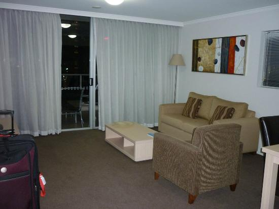 Oaks Lexicon Apartments: Lounge