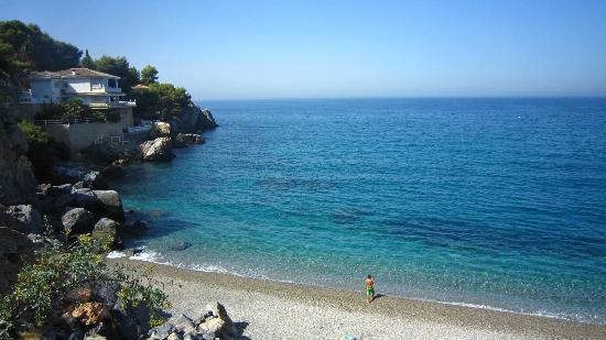 Hotel Almijara: Calita de la playa de la herradura