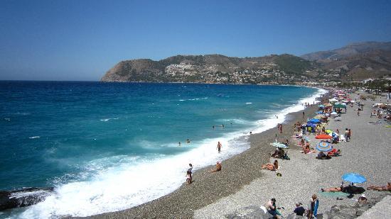 Playa De La Herradura Picture Of Hotel Almijara La