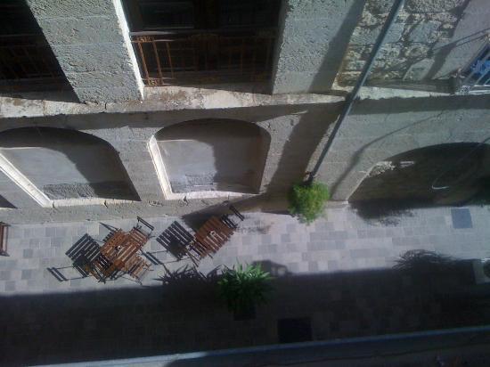 Belmonte Hotel: Via Saieva from the terrace