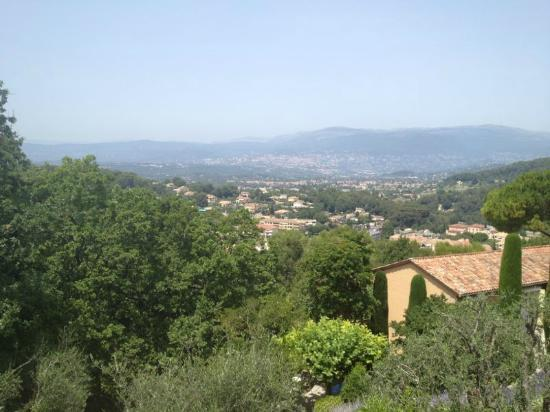 Mougins, France: View from the pool