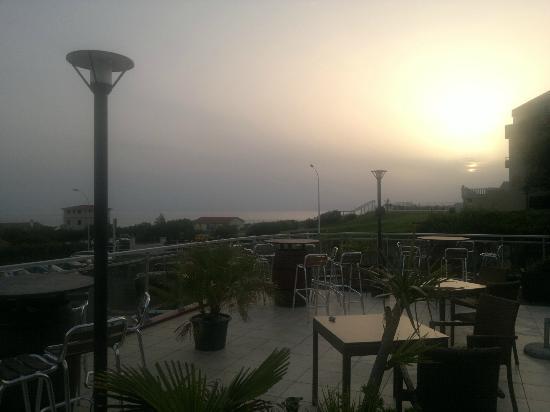 Hotel Le Biarritz : une belle journée se termine