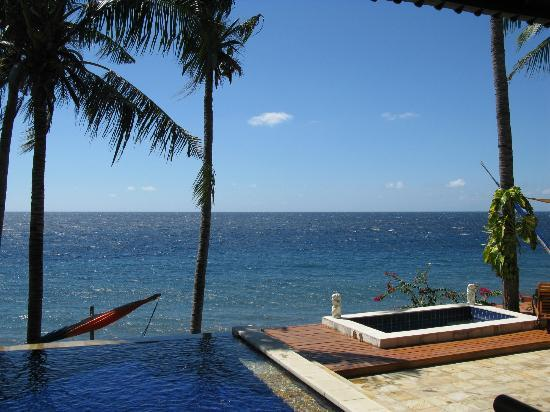 Villa Alba Dive Resort: Sea view