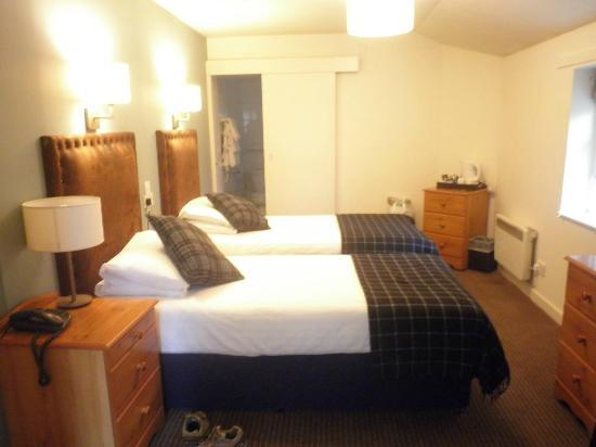 The Craiglynne Hotel: Just perfect for 2 friends sharing!