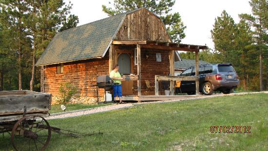 Double D B&B Cabins: The cabins are rustic-looking, but with all modern amenities.