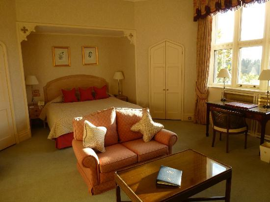 Horsted Place: The Bedroom part of the Neville Suite