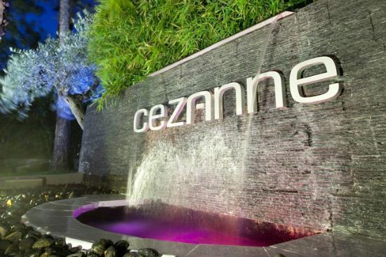 Hotel Cezanne : Entrance