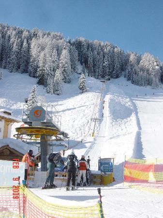 Garni Chalet Elisabeth: Campo Freina SKI IN AND SKI OUT hauseigener Skilift