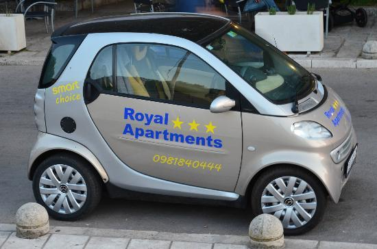 Korcula Town, Croazia: Rental Smart Car