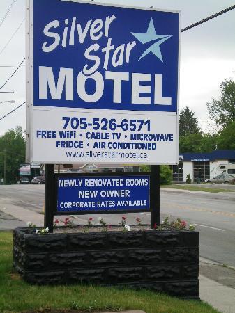 SilverStar Motel: SilverStar Sign