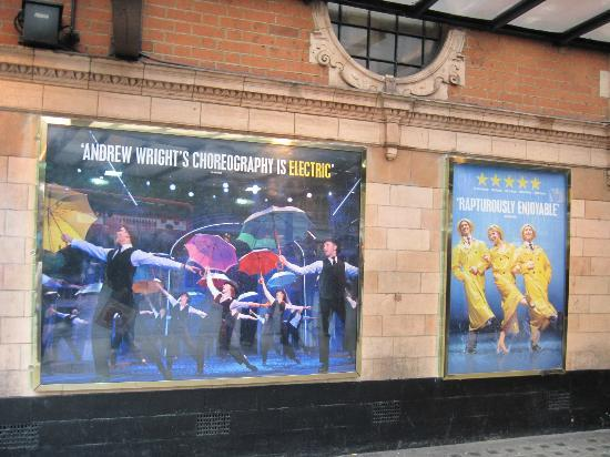 Singin in the Rain at the Palace Theatre