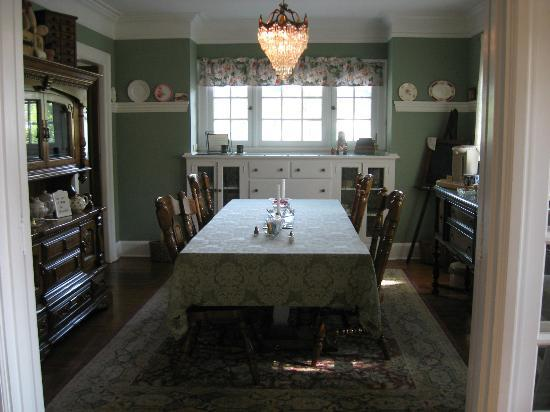 The Ivy House Bed and Breakfast: Delicious