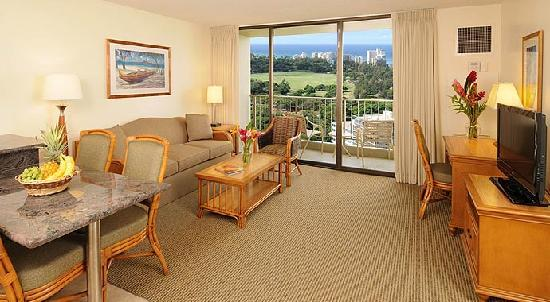 2 Bedroom Ocean View Picture Of Aston Waikiki Sunset