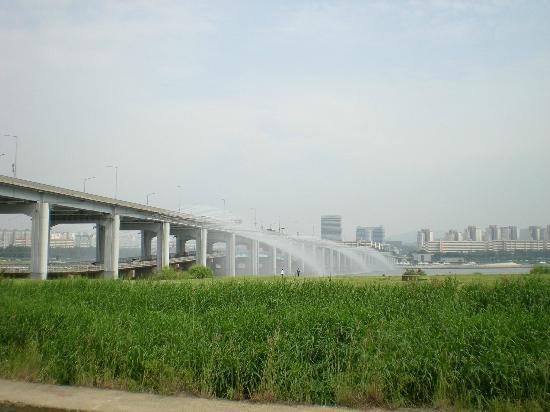 Hangang Park: Dongjakdaegyo Bridge ( near express bus terminal)