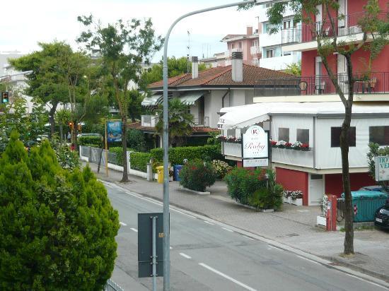 Hotel Edera: view from balcony 2