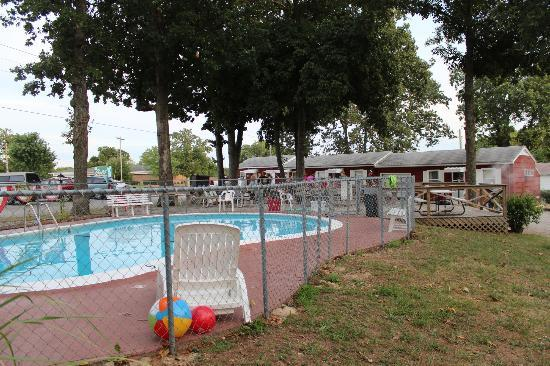Royal W Resort Cabins & RV Park : Pool area