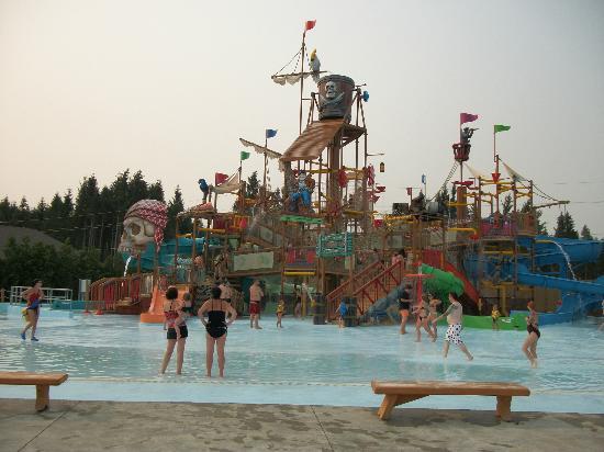 Calypso Water Park : Le repère des pirates pour les enfants