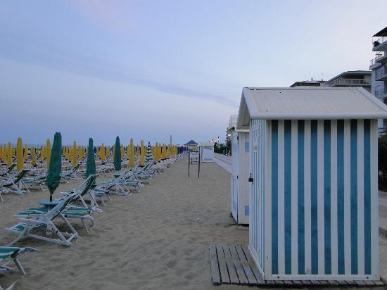 Hotel Derby: beach