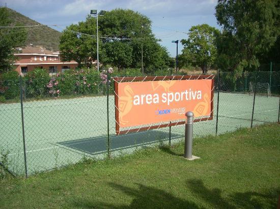 Eden Village Club La Caletta : area sportiva
