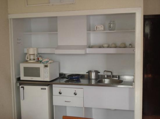Exe Suites San Marino: Kitchenette