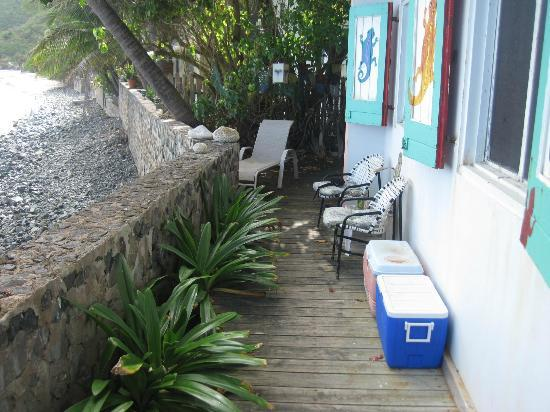Chateau Relaxeau Caribe: Patio