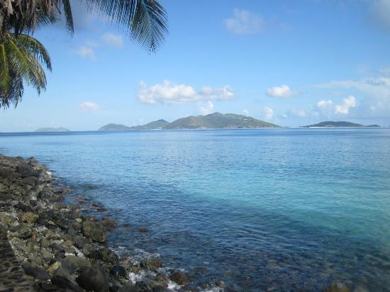 Chateau Relaxeau Caribe: View of Jost Van Dyke