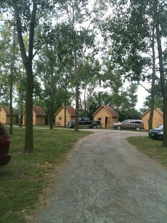 Camp Sandusky: Cabins