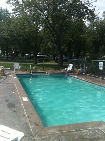Camp Sandusky: The newest Pool..yes they added a second to accomodate